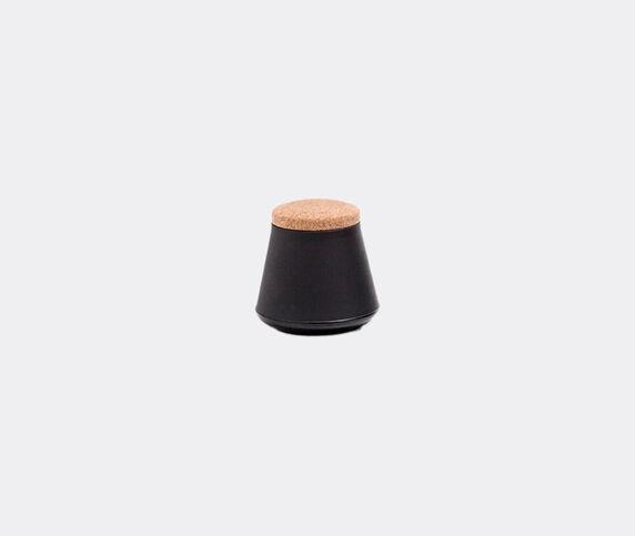 Established & Sons 'Store' jar, S, matt black