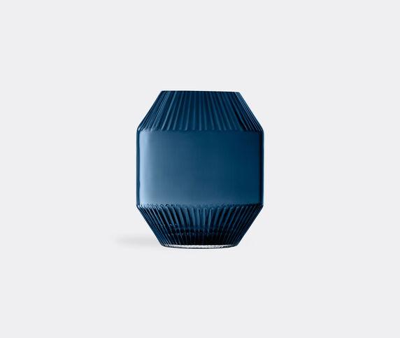 LSA International 'Rotunda' vase, sapphire, small