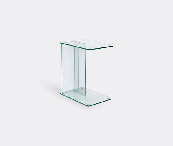 Case Furniture 'Lucent' laptop table, clear