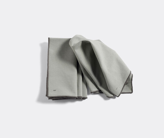 Hay 'Contour' napkin, set of four, grey