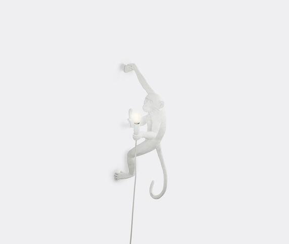 Seletti 'Monkey' lamp hanging, right, UK plug