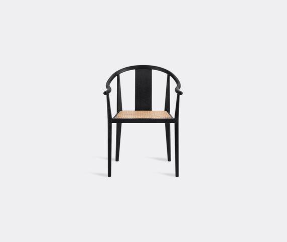 NORR11 'Shanghai' chair, black and brown