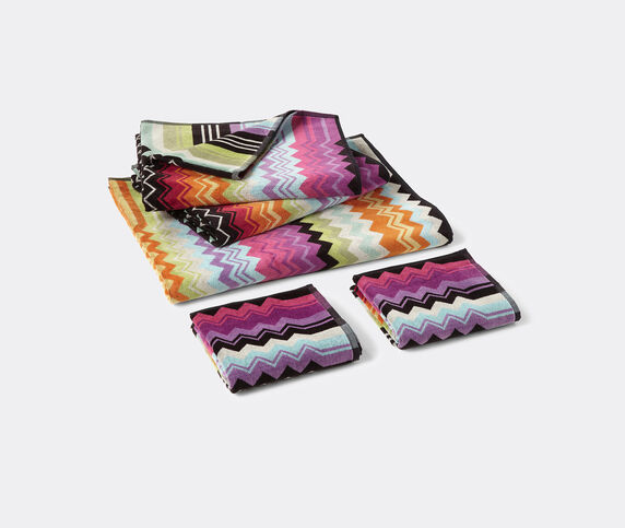 Missoni 'Giacomo' towels, set of five, orange