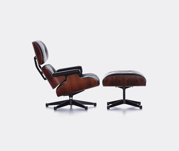 Vitra 'Lounge Chair and Ottoman', palisander wood