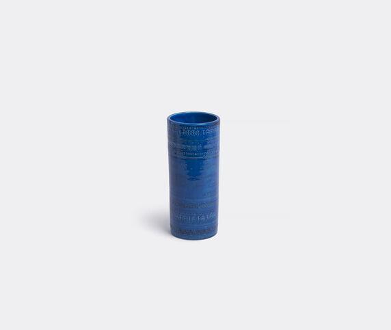 Bitossi Ceramiche 'Rimini blu' cylindrical vase