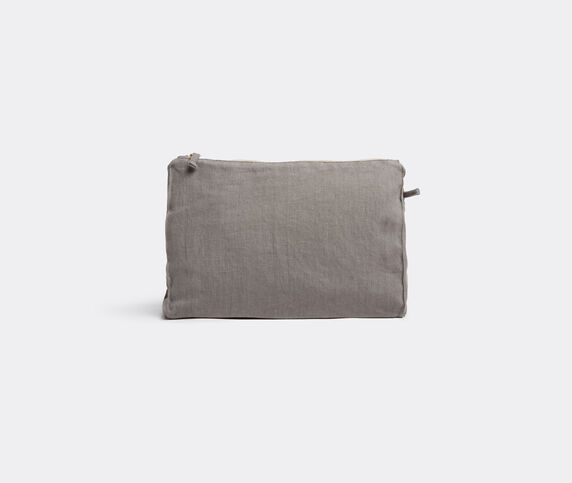 Once Milano Pochette, large, charcoal