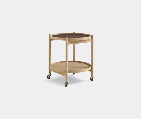 Brdr. Krüger 'Bølling' tray table, 500mm, oak, beige