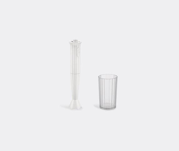 Alessi 'Plissé' mixer, white, UK plug