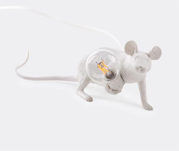 Seletti 'Mouse' lamp lie down, US plug