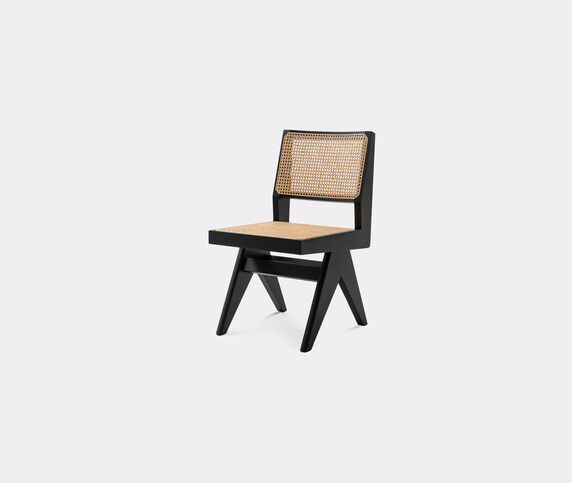 Cassina 'Capitol Complex' chair with Vienna straw seat