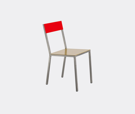 Valerie_objects 'Alu' chair, curry red