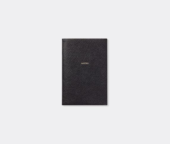 Smythson 'Chelsea' notebook, black