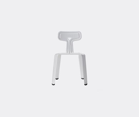 Nils Holger Moormann 'Pressed Chair', glossy traffic white