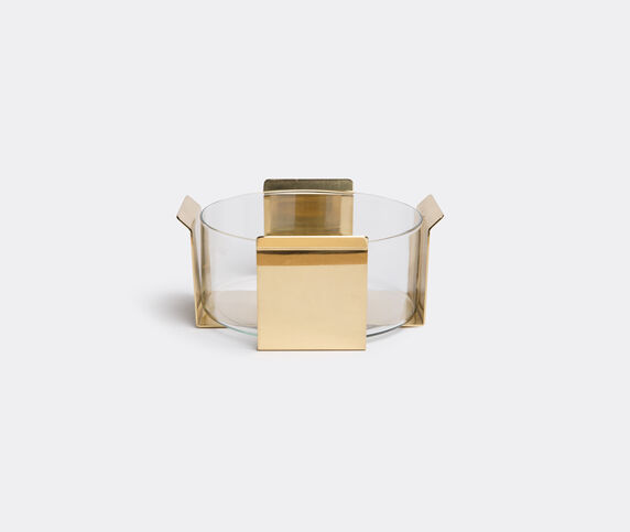 Marta Sala Éditions 'OB2 Tizio' vase, matte brass