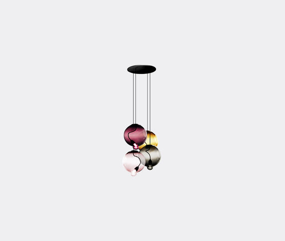 Cappellini 'Meltdown' lamp, four pendants, UK plug