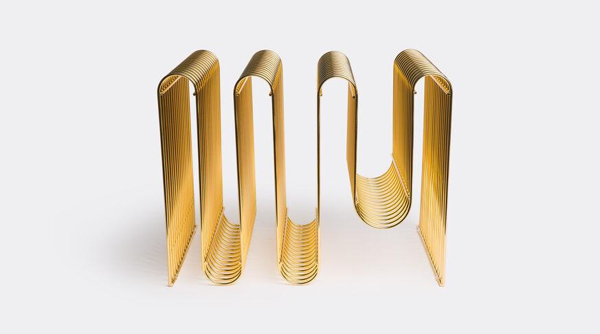 AYTM Curva Magazine Holder, Gold 1