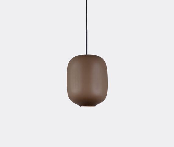 Cappellini 'Arya' hanging lamp, medium, brown, UK plug