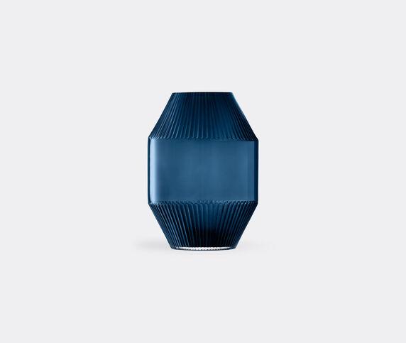LSA International 'Rotunda' vase, sapphire, large