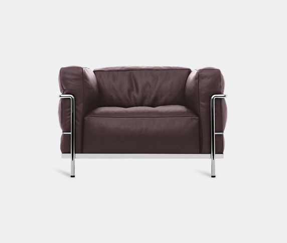 Cassina 'LC3' armchair, brown