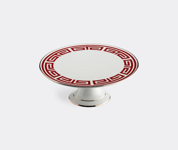 Ginori 1735 'Labirinto' cake stand, red