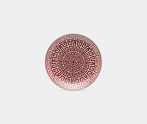 Ginori 1735 'Labirinto' Venezia shape plate, red