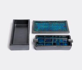 Bitossi Ceramiche Set Of Boxes + Ashtray 2