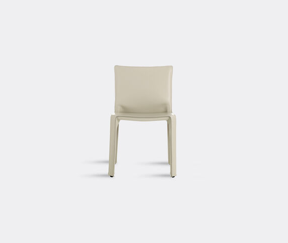 Cassina 'Cab 412' chair, leather, ivory