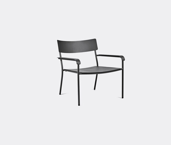 Serax 'August' lounge chair, set of two, black