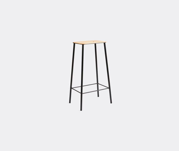 Frama 'Adam' stool, L, oak and grey