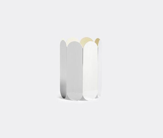 Hay 'Arcs Vase', silver