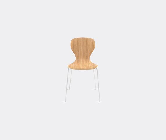 Viccarbe 'Ears' chair, metal legs, white