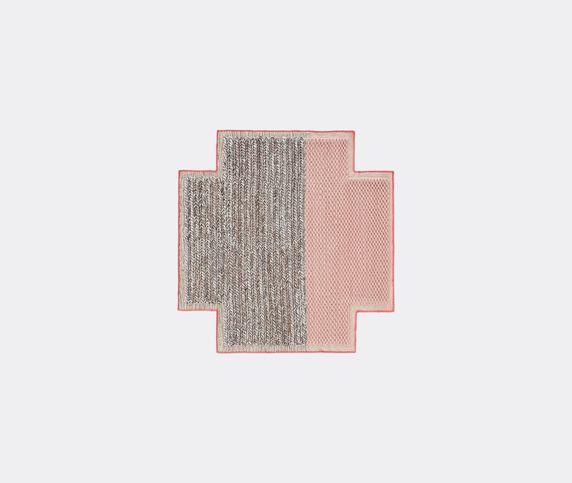 GAN 'Space Mangas Square Plait Pink' rug