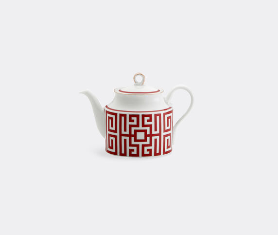 Ginori 1735 'Labirinto' teapot, red