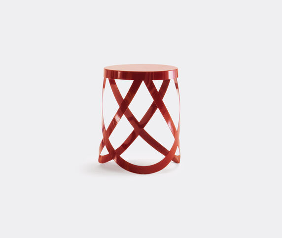 Cappellini 'Ribbon' stool, low, red