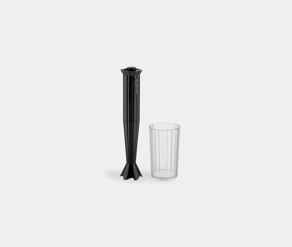 Alessi 'Plissé' mixer, black, UK plug