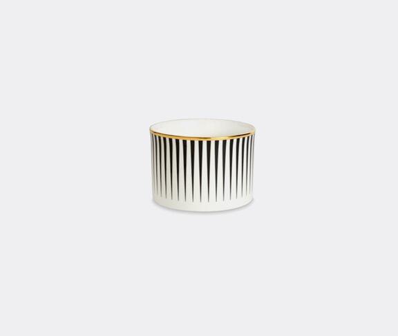 1882 Ltd 'Lustre' sugar bowl, black stripe
