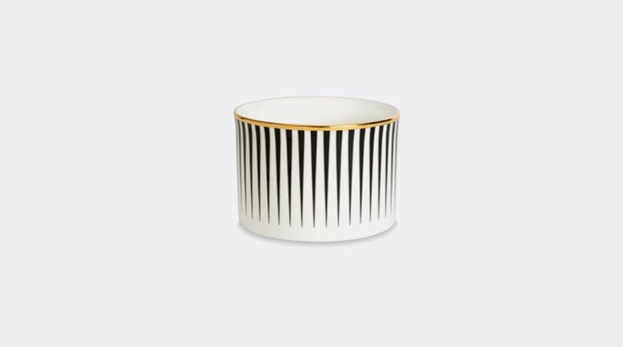 1882 Ltd Lustre Sugar Bowl - Black Stripe  1