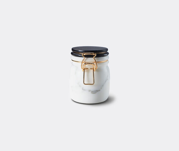 Editions Milano 'Miss Marble' jar, black and white