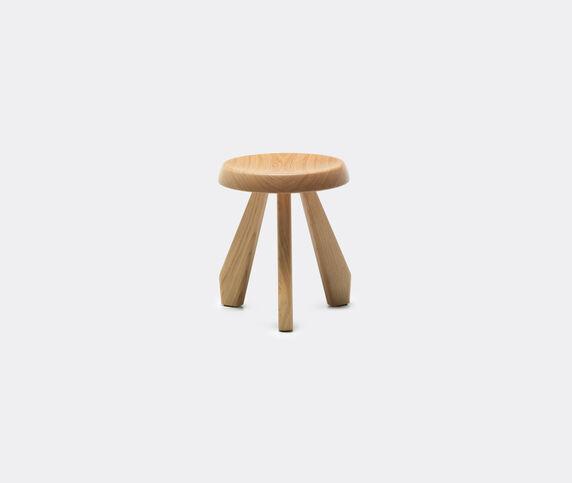 Cassina 'Tabouret Méribel' stool, natural oak
