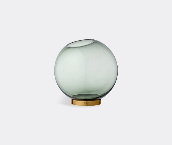 AYTM 'Globe' vase with stand, forest