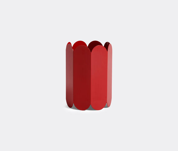 Hay 'Arcs Vase', red
