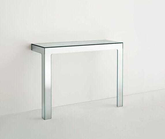 Glas Italia 'Mirror Mirror' high table