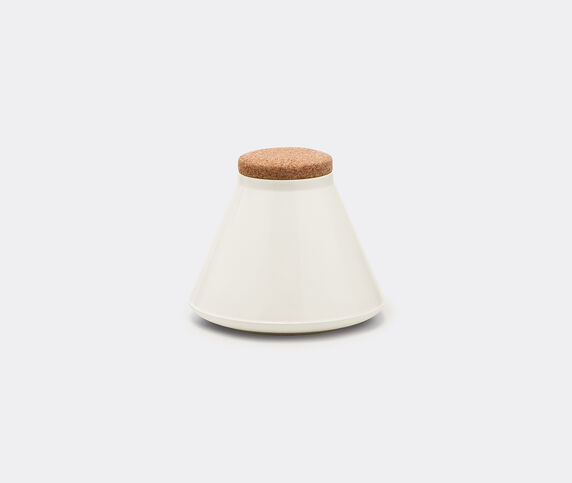 Established & Sons 'Store' jar, wide, gloss white