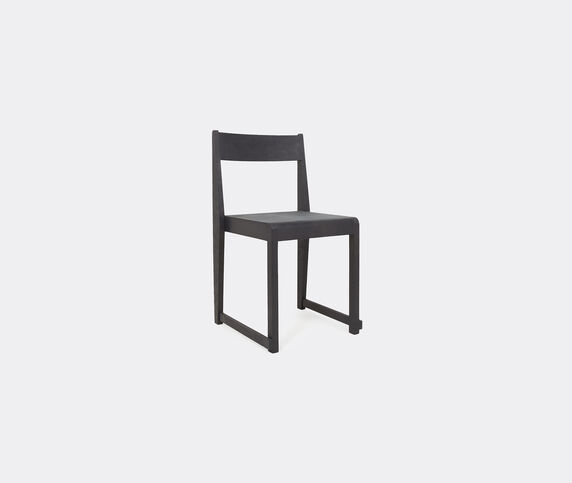 Frama 'Chair 01', black and leather