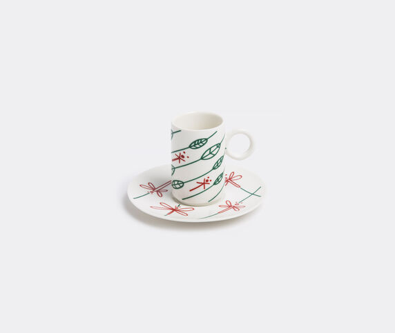 L'Abitare 'Dragonflies' in the wind coffee cup and saucer