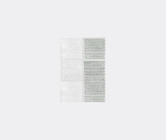 Wall&decò 'Changing Dots Ts' wallpaper, green and silver