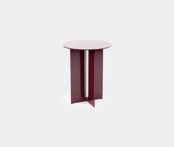 New Format Studio 'Mers' side table, burgundy