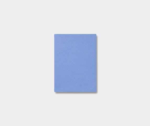 Smythson 'Soho' notebook, Nile blue