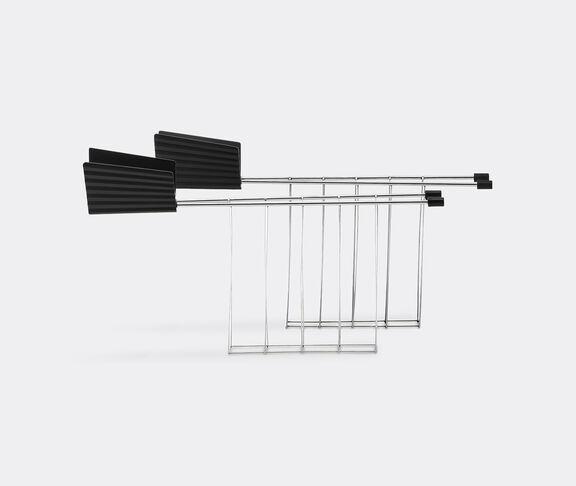 Alessi 'Plissé' toaster tongs, black
