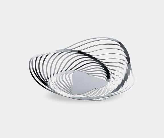 Alessi 'Trinity' fruit bowl, silver